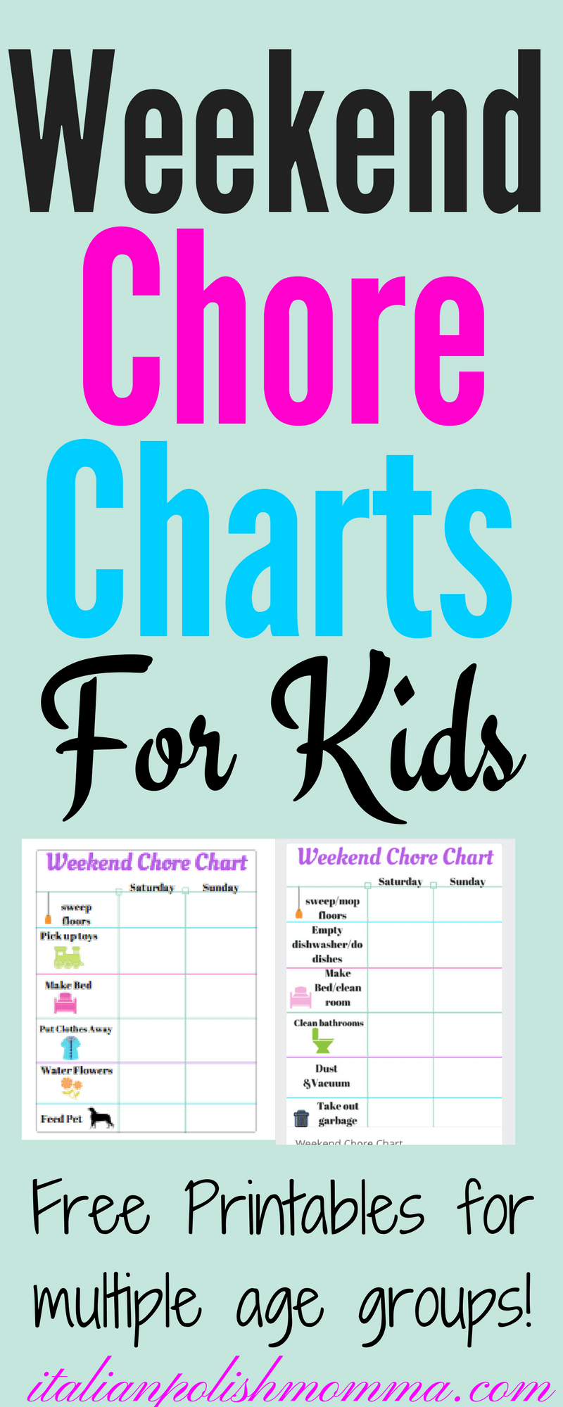 Weekend Chore Chart For Kids on baby trend carrier